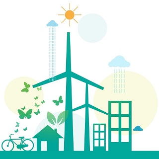 Wind Turbines, weather and buildings