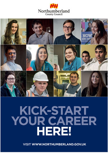 Kick start your career here front cover - Link to magazine view