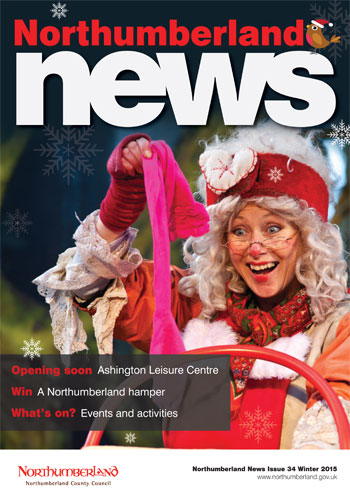 Northumberland News Winter 2015 cover photo