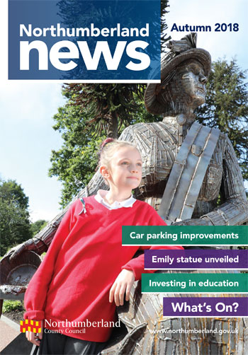Northumberland News Autumn front cover