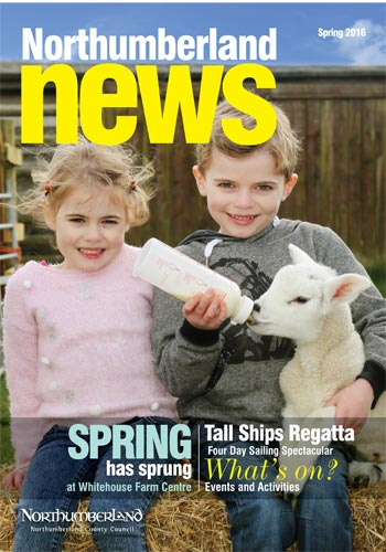 Northumberland News - Spring 2016 cover photo
