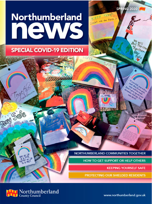 Northumberland News COVID-19 special edition front cover