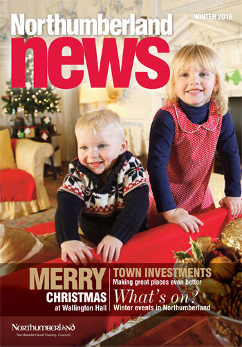 Cover photo for Northumberland News Winter 2016