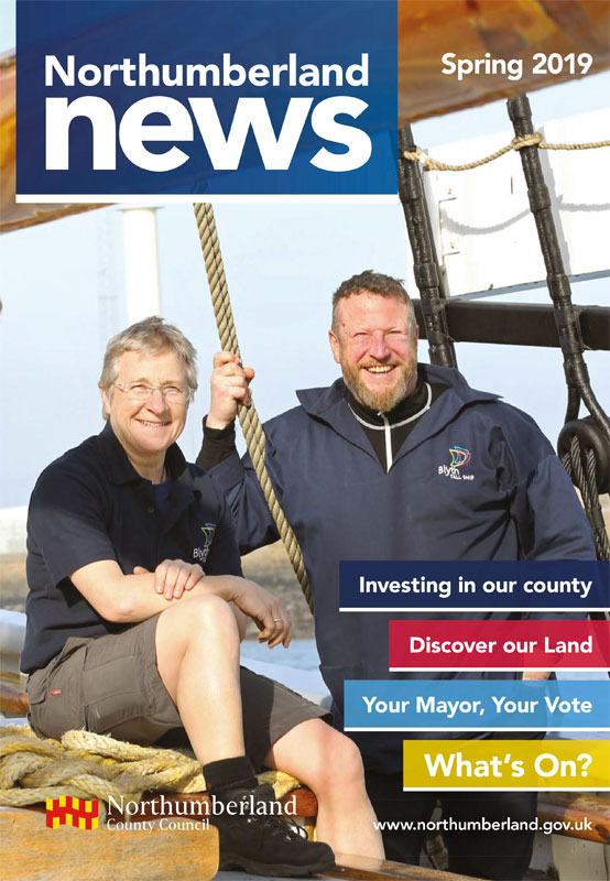 Northumberland News Spring 2019 cover