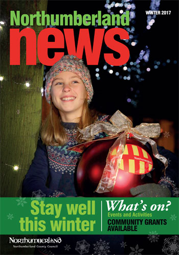 Northumberland News Winter 2017 Front cover
