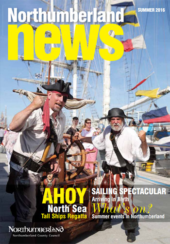 Northumberland News - Summer 2016 cover photo