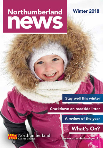 Northumberland News winter 2018 front cover