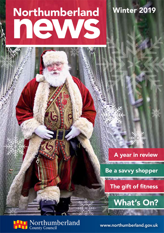 Northumberland News Spring 2019 front cover