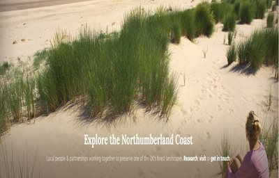 Image showing Northumberland Coast Area of Outstanding Natural Beauty