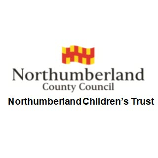 Northumberland County Council Logo and the title Northumberland Children's trust