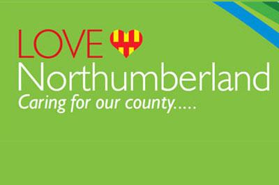Image showing LOVE Northumberland