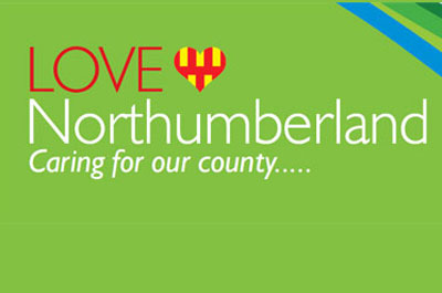Image showing LOVE Northumberland