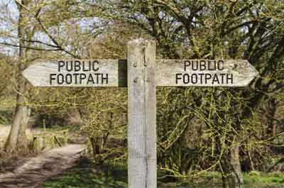Image showing Public rights of way in Northumberland