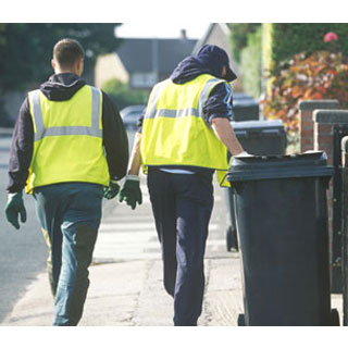 Image showing Bin collection