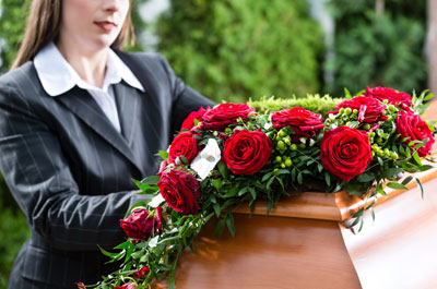 Image showing Register a death and arrange a funeral