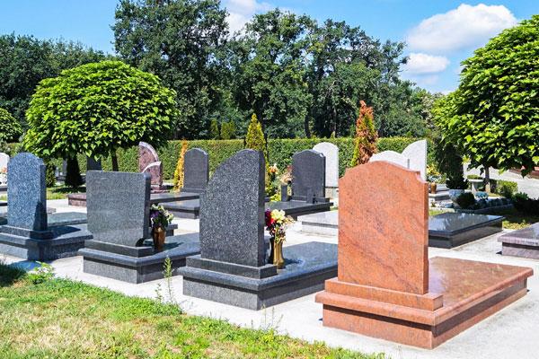 Image showing Cemeteries, crematoriums and memorials