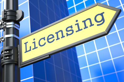 Image showing Licences & permits