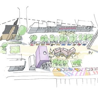 Image showing Town Centre Regeneration