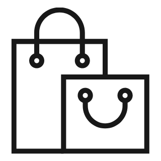 Some shopping bags