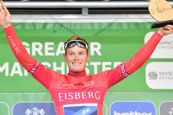 Image demonstrating Eisberg renews as partner of Tour of Britain