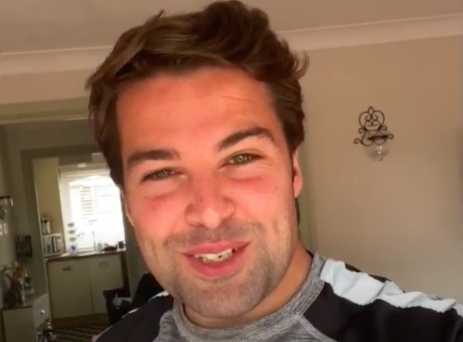 Joe McElderry records a special message for Northumberland