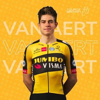 Cyclist Wout Van Aert
