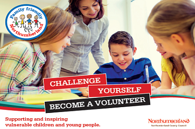 Support and inspire young people as a volunteer