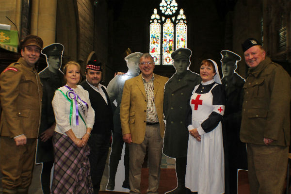 Image demonstrating ​'Stannington for King and Country' book series launches at St Mary's Church