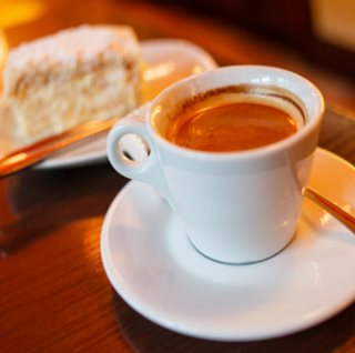 Image showing Refuel with coffee and cake