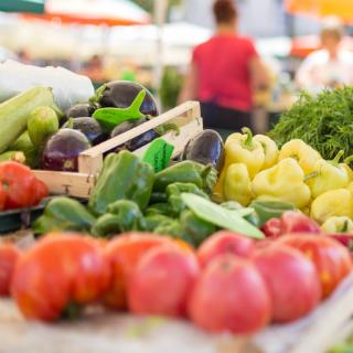 Image showing Fruit and veg