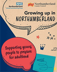 To download the PDF Growing up in Northumberland click this image