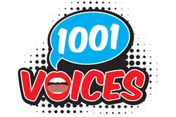1001 Voices logo
