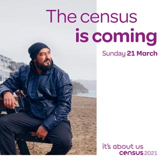Census 2021 is coming in March