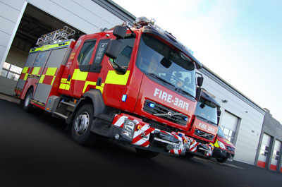 Find out about your fire service