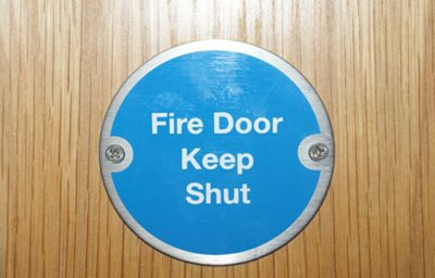 Image showing Keep your business safe from fire