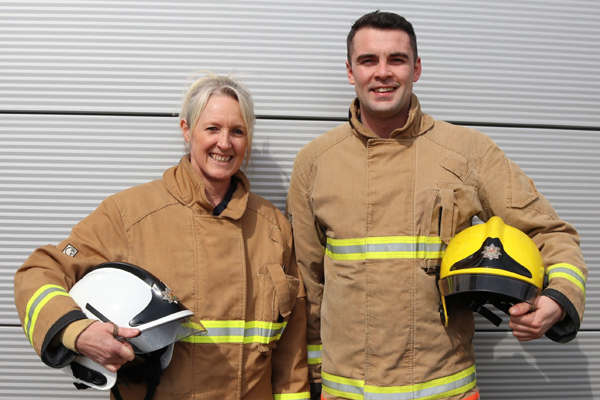 Image demonstrating Northumberland Fire and Rescue Service are recruiting for full time firefighters.