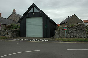 Holy Island fire station