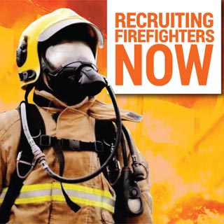 Recruiting Firefighters now