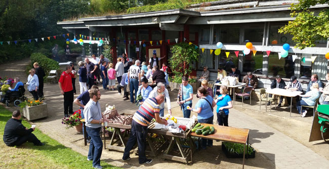 Community fair day at horticultural skills unit at Sleekburn