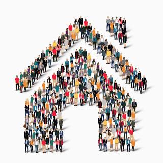 Image showing Community led housing