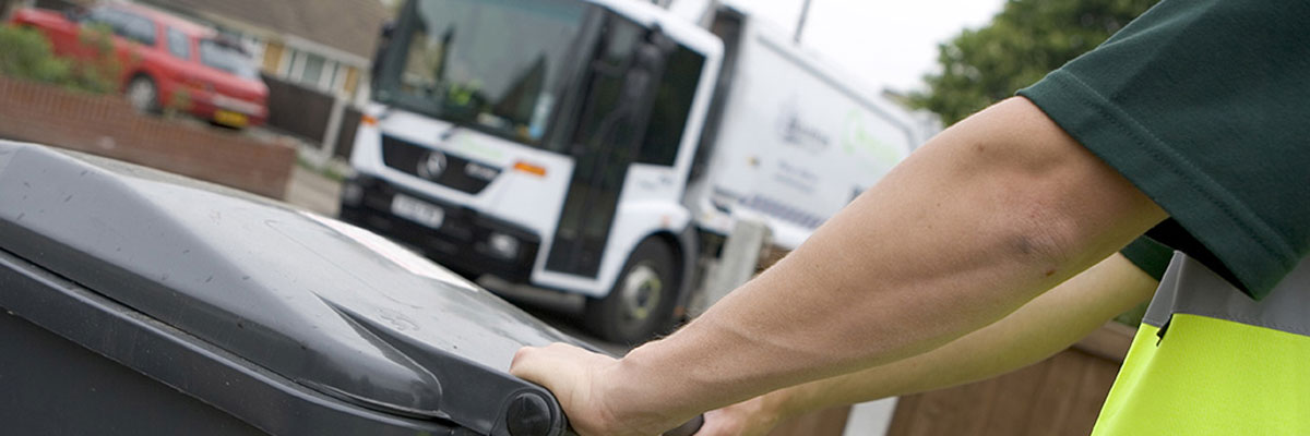 Bin collection information