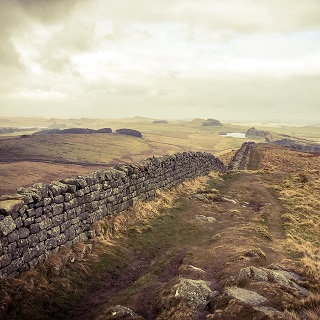 Image showing Hadrian's Wall