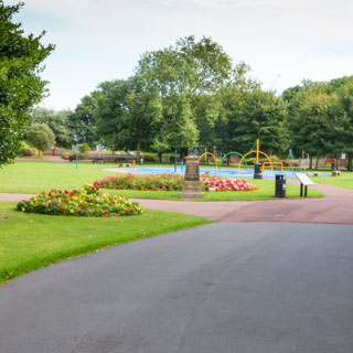 Image showing Ridley Park, Blyth