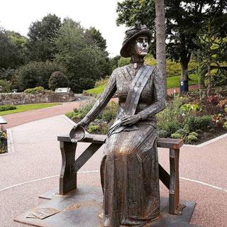 Image showing Emily Wilding Davison statue