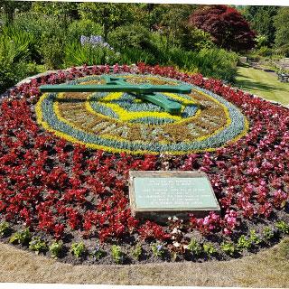 Image showing Morpeth Floral Clock