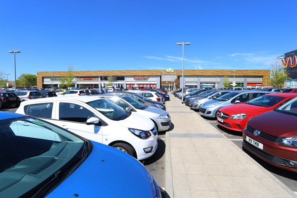 Image demonstrating Car parking boost in Cramlington over Christmas period