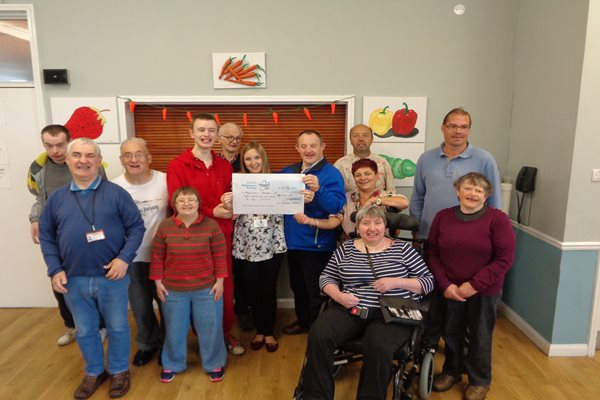 Image demonstrating Fundraising Fun at the Tynedale Centre