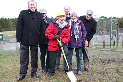 Leisure boost for Bedlington as park work starts