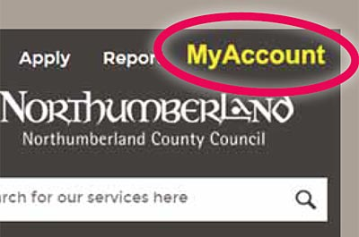 Register for your free My Northumberland Account and you could win an iPad