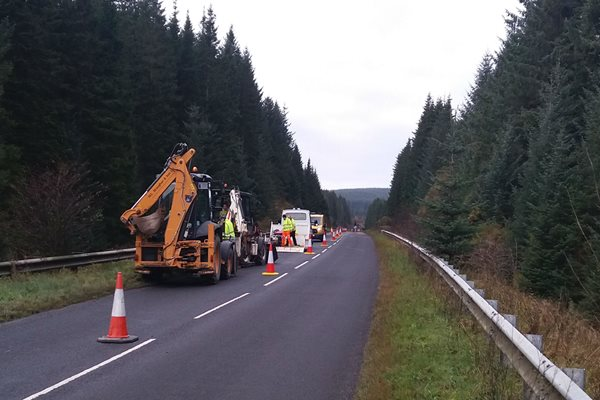 Image demonstrating Work gets underway in £6.5m road improvement scheme
